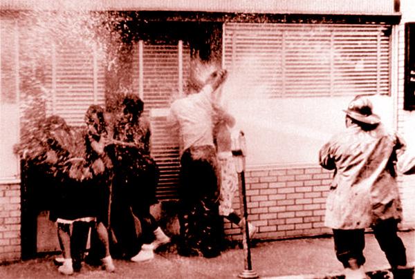 Water Hosing 1963