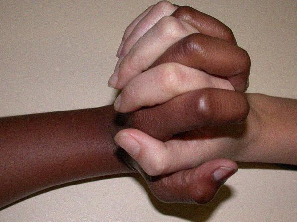 Black hand, White hand